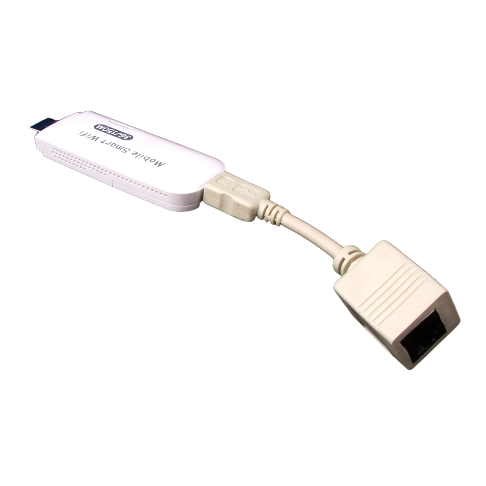 Connected - USB to RJ45