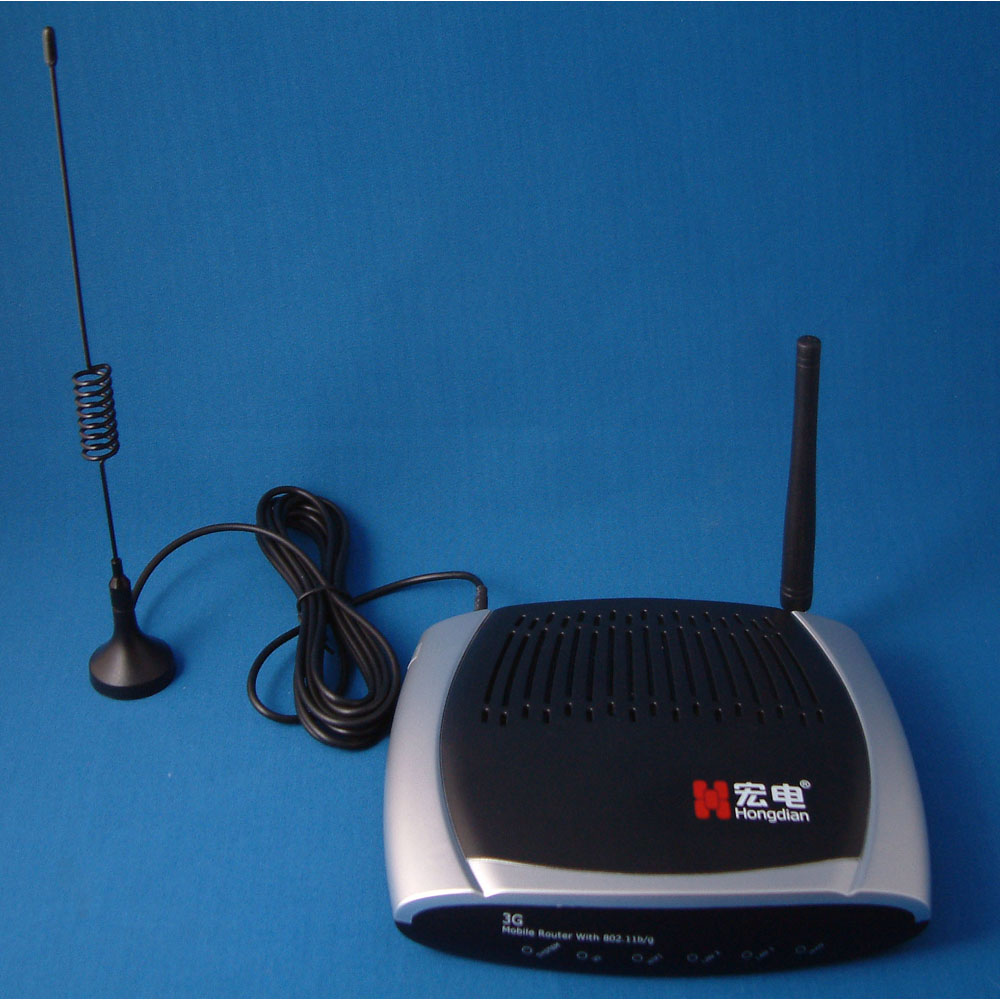 3G Antenna on a lead, WiFi antenna on Router