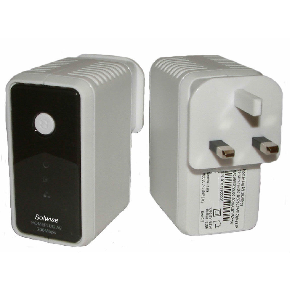 Home Plug AV Push Button SecureSync