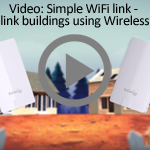 Linking Building using wireless