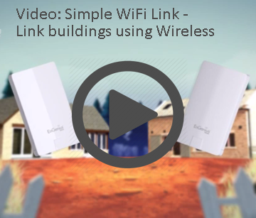 Linking buildings using WiFi