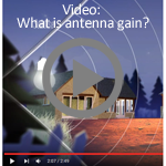 What is antenna gain? Click to play.