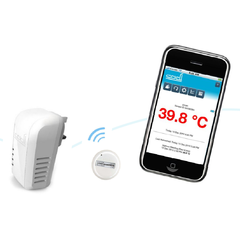 solwise aztech cadi sence wifi thermometer wl cadisense. Black Bedroom Furniture Sets. Home Design Ideas