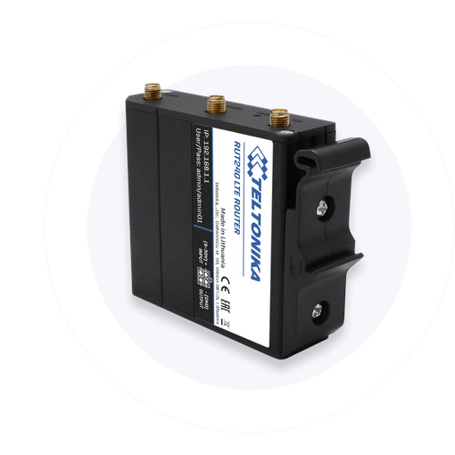 Optional Plastic Din rail mounting - See Accessories