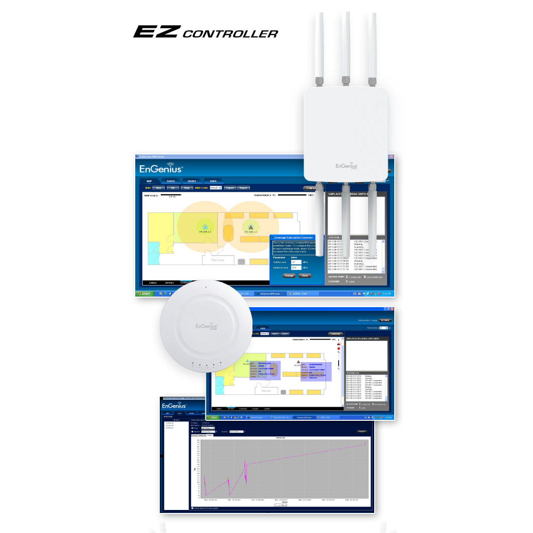 Monitor & Manage Several Access Points using the EZ Controller - free download